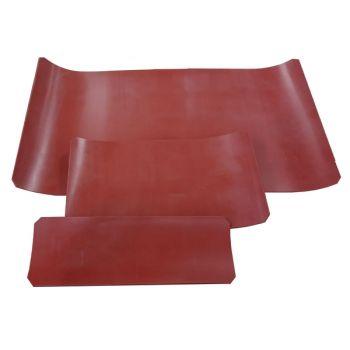 20 St. Silikonplatte rot,  ca. 280x100x3mm